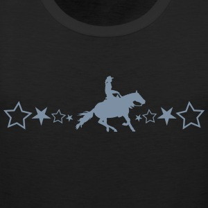 Slider horse with stars - Men's Premium Tank Top