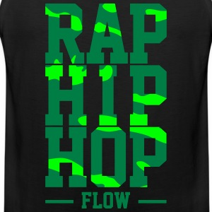 Rap Hip Hop Flow - Premium singlet for menn