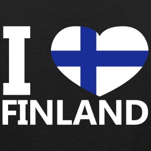 I Love Finland - Premium singlet for menn