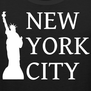 New York by - Premium singlet for menn