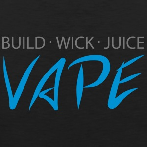 Build Wick Juice - Vape - Männer Premium Tank Top