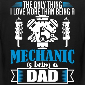 Mechanic Dad - funny fathers day - Men's Premium Tank Top
