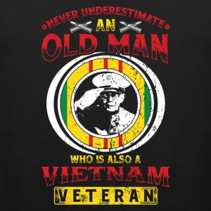 Vietnam Veterans! Veterans! US Airforce! USA! - Men's Premium Tank Top