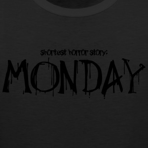 Monday horror story - Men's Premium Tank Top