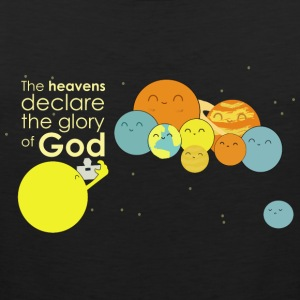 The heavens declare the glory of God - Men's Premium Tank Top