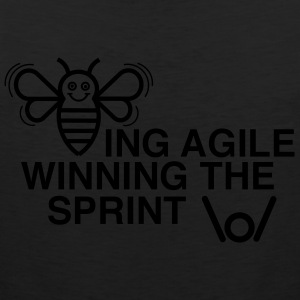 BEING AGILE WINNING THE SPRINT - Men's Premium Tank Top