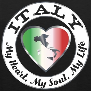 Italië - My Heart My Soul My Life - Mannen Premium tank top