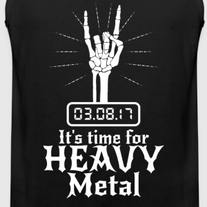 Det er tid for Heavy Metal - Premium singlet for menn
