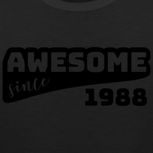 Awesome since 1988 / Birthday-Shirt - Men's Premium Tank Top