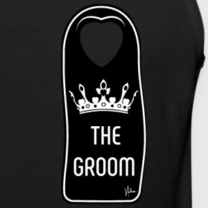 The Groom - Premium singlet for menn