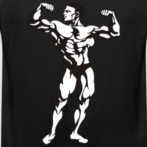 Oldschool Bodybuilding GOLIATH WEAR - Mannen Premium tank top