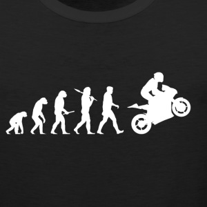 Evolution Motorbike! Motorcycle! funny! Bikers! - Men's Premium Tank Top