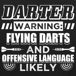 DART FLYING DARTS - Premiumtanktopp herr