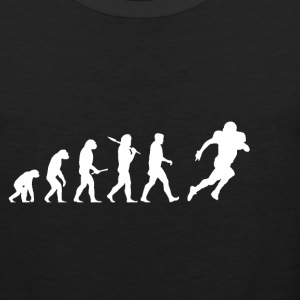 Evolution Voetbal! American Football! grappig! - Mannen Premium tank top