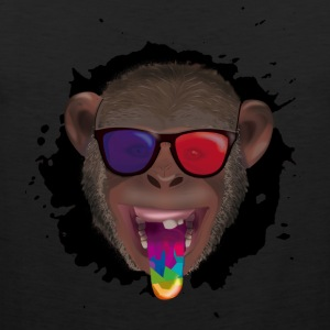 3d monkey - Men's Premium Tank Top