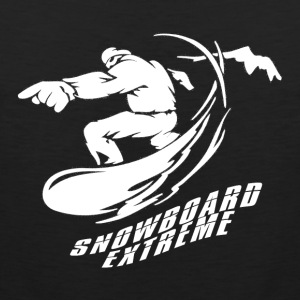 Snowboard EXTREME - Boarder Power! - Men's Premium Tank Top
