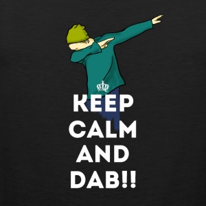 dab keep dabbing touchdown fun cool LOL football - Männer Premium Tank Top