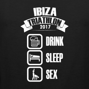 IBIZA Triathlon Drink & SEX - Mannen Premium tank top