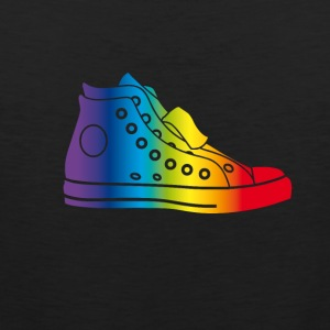 sneaker_bunt sneaker hipster gay rainbow colorful - Men's Premium Tank Top