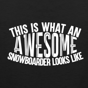 Awesome Boarder - Boarder Power - Men's Premium Tank Top
