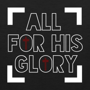 All for His Glory - Believe - Men's Premium Tank Top