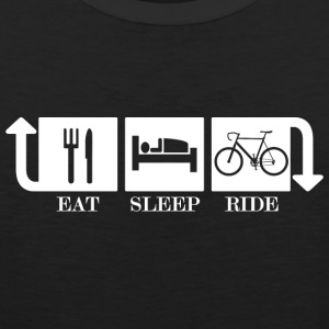 Eat sleep ride - Men's Premium Tank Top
