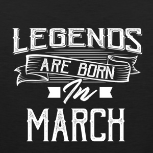 Legends are born in March - Men's Premium Tank Top