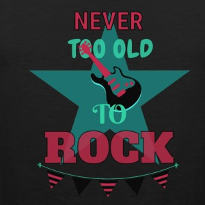 Never too old to rock - Männer Premium Tank Top