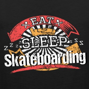 Eat Sleep Skateboarden - Men's Premium Tank Top