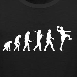 Evolution handball! Sports! Handball funny! - Men's Premium Tank Top