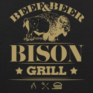 Grill Barbecue Bison 5g - Men's Premium Tank Top