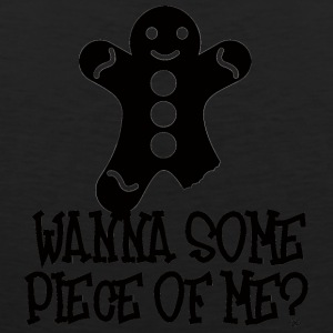 Christmas: Wanna Some Piece Of Me? - Men's Premium Tank Top