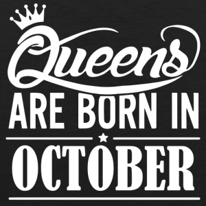 October Birthday Queen - Men's Premium Tank Top