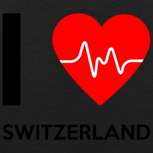 I Love Switzerland - I Love Switzerland - Men's Premium Tank Top