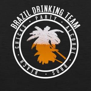 Shirt party holiday - Brazil - Men's Premium Tank Top