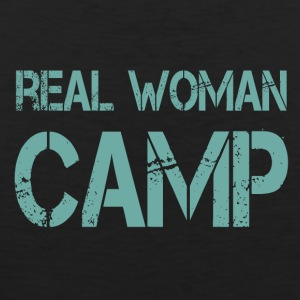 REAL WOMAN CAMP - Men's Premium Tank Top