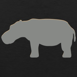 Real Hippo - Men's Premium Tank Top