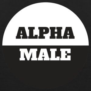 Alpha Male - Tank top męski Premium