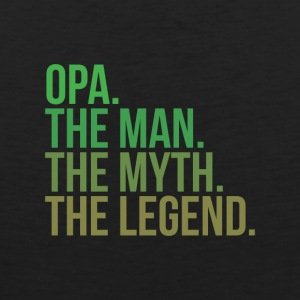 Granny opa the man - Men's Premium Tank Top