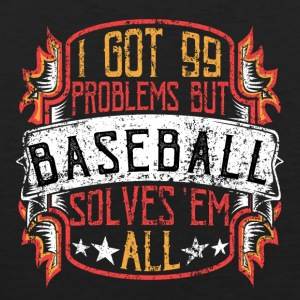 99 Problems Baseball - Men's Premium Tank Top