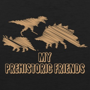 My Prehistoric Friends - Dinosaurs - Men's Premium Tank Top