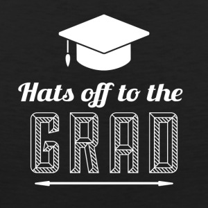 High School / Graduation: Hats off to the degree - Men's Premium Tank Top