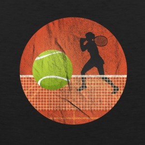 Tennis ball - over nettverket - Premium singlet for menn