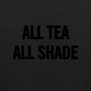 Alle Tea All Black Shade - Herre Premium tanktop