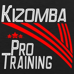 Kizomba Pro Training white - Pro Dance Edition - Men's Premium Tank Top