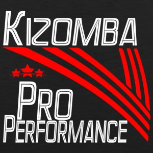 Kizomba Pro Performance white - Pro Dance Edition - Men's Premium Tank Top