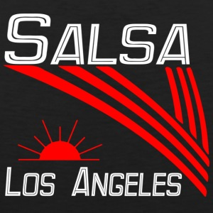 Salsa Los Angeles Classic white -Pro Dance Edition - Men's Premium Tank Top