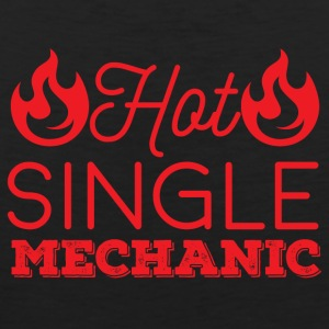 Mechanic: Hot Single Mechanic - Men's Premium Tank Top