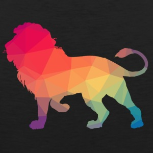 Lion Logo Polygon Bunt - Men's Premium Tank Top