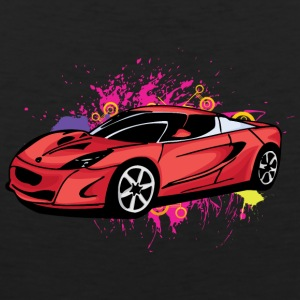 Cool red sportscar - Men's Premium Tank Top